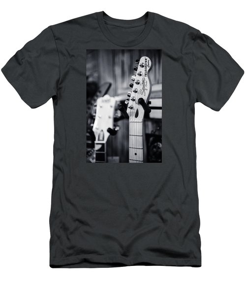 Men's T-Shirt (Slim Fit) featuring the photograph Squier Telecaster by Andy Crawford