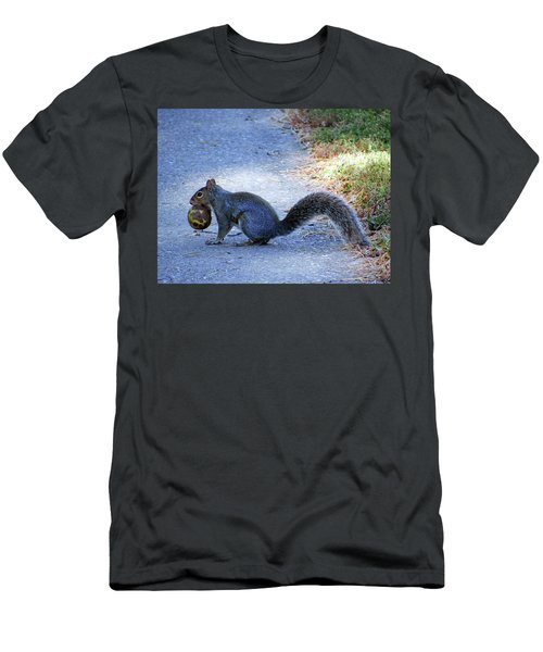 Squirrel  Men's T-Shirt (Athletic Fit)