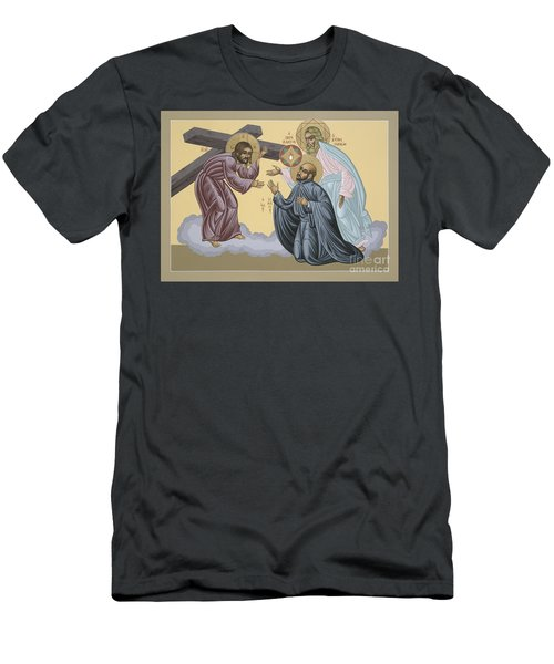 St Ignatius Vision At La Storta 074 Men's T-Shirt (Athletic Fit)