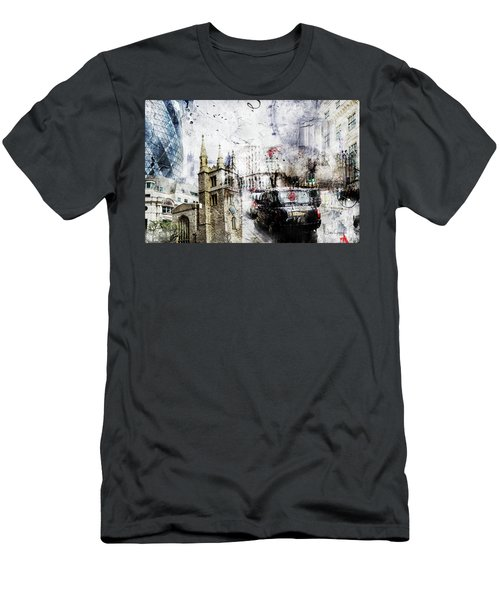 St Mary Axe Men's T-Shirt (Athletic Fit)