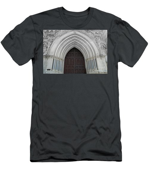 St. Mary Cathedral- Austin Texas Men's T-Shirt (Athletic Fit)
