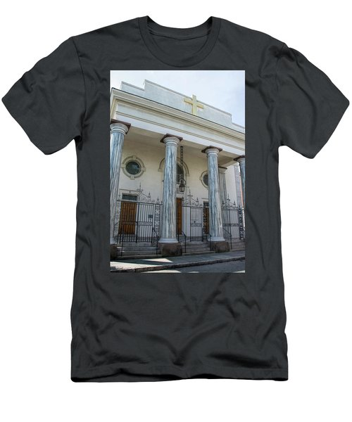 St. Mary's Men's T-Shirt (Slim Fit) by Ed Waldrop