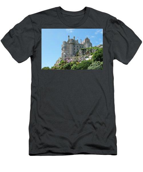 St Michael's Mount Castle Men's T-Shirt (Athletic Fit)
