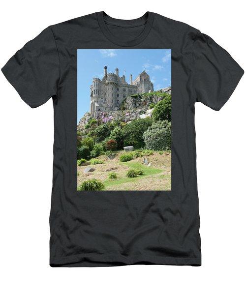 St Michael's Mount Castle II Men's T-Shirt (Athletic Fit)