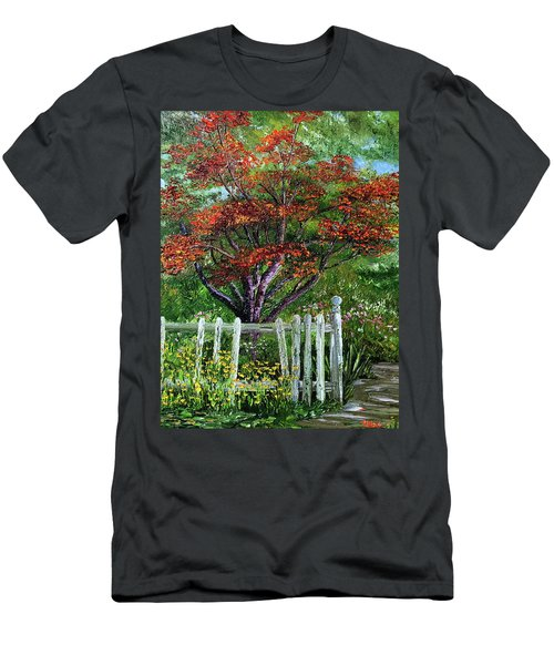 St. Michael's Tree Men's T-Shirt (Athletic Fit)
