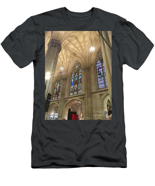 St. Patricks Cathedral Interior Men's T-Shirt (Athletic Fit)