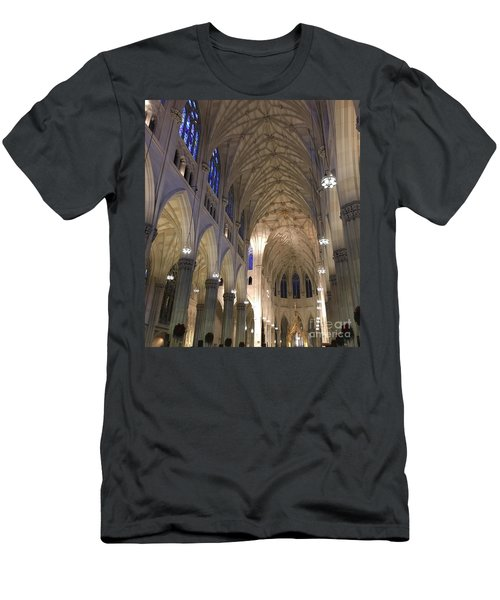 St. Patricks Cathedral Main Interior Men's T-Shirt (Athletic Fit)