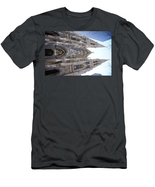 St Patrick's Cathedral Nyc Men's T-Shirt (Athletic Fit)