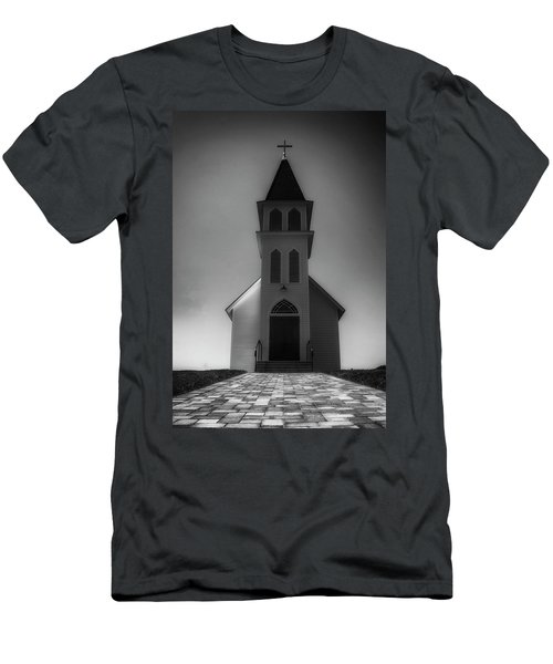 Men's T-Shirt (Slim Fit) featuring the photograph St. Peter's Church by Joseph Hollingsworth