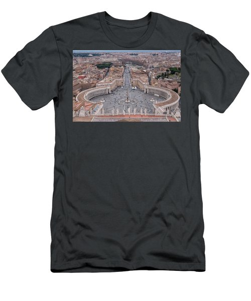 St. Peter's Square Men's T-Shirt (Slim Fit) by Sergey Simanovsky