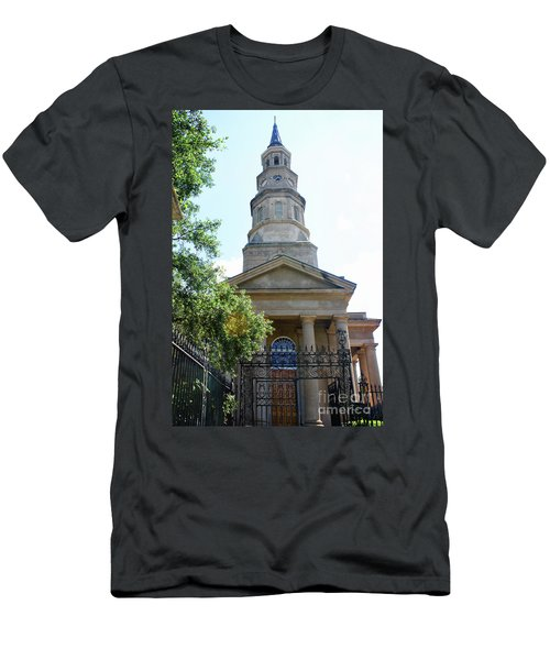 St. Phillips Episcopal Church, Charleston, South Carolina Men's T-Shirt (Athletic Fit)