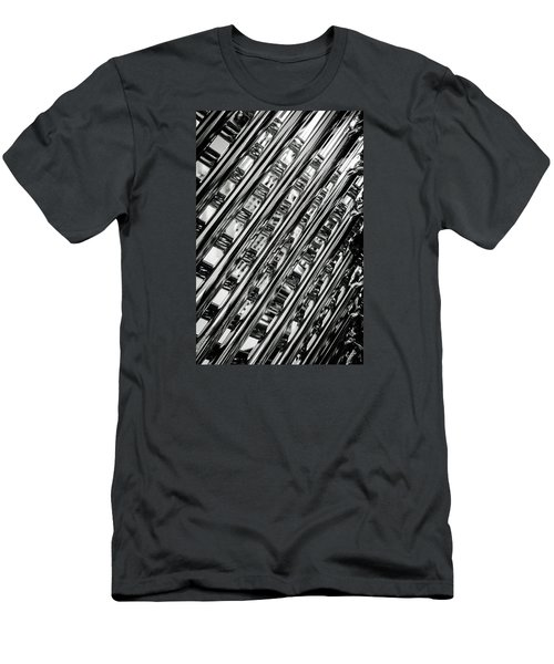 Stacked Chairs Abstract Men's T-Shirt (Athletic Fit)
