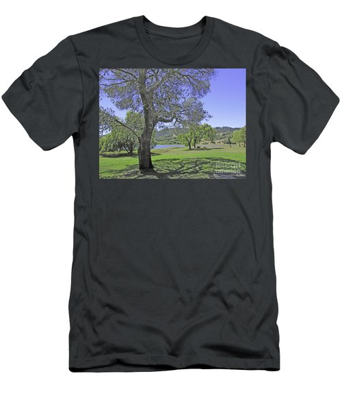 Stafford Lake Beauty Men's T-Shirt (Athletic Fit)