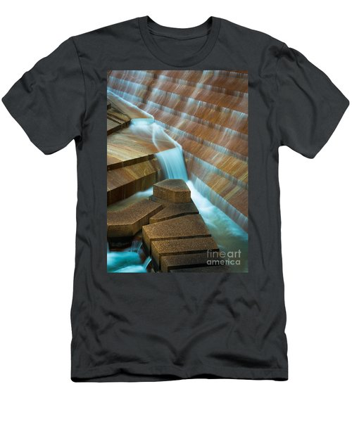 Staircase Fountain Men's T-Shirt (Athletic Fit)
