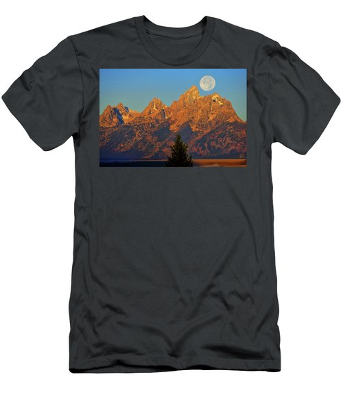 Stairway To The Moon Men's T-Shirt (Athletic Fit)