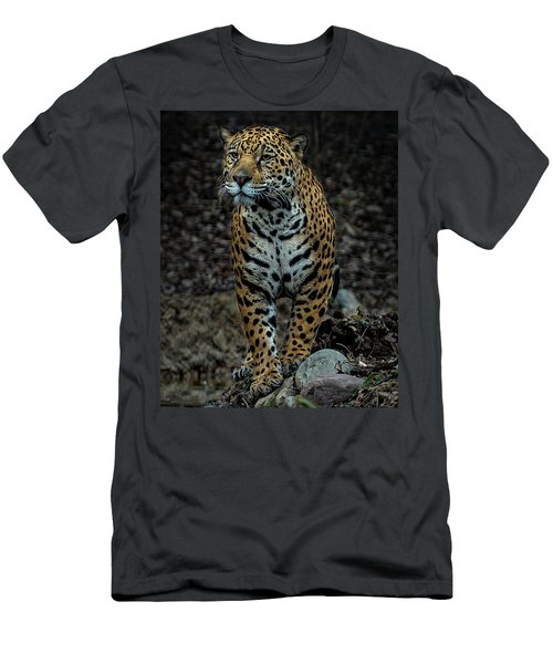 Men's T-Shirt (Slim Fit) featuring the photograph Stalking by Phil Abrams