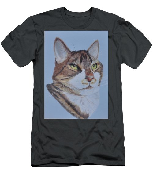 Men's T-Shirt (Slim Fit) featuring the drawing Stanley by Jo Baner