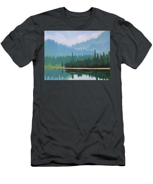 Stanley Lake - Far Shore Men's T-Shirt (Athletic Fit)