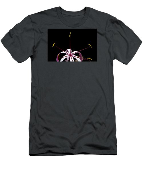 Men's T-Shirt (Athletic Fit) featuring the photograph Star Flower by Ken Barrett