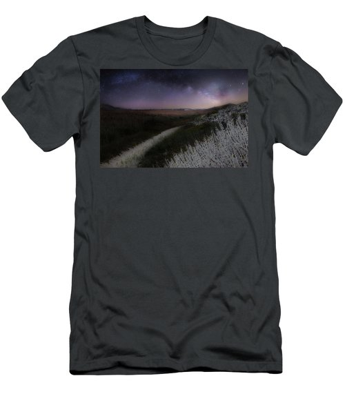 Men's T-Shirt (Slim Fit) featuring the photograph Star Flowers by Bill Wakeley
