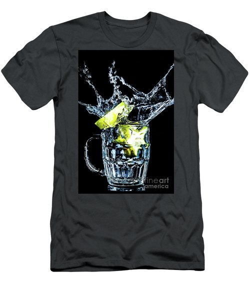 Men's T-Shirt (Athletic Fit) featuring the photograph Star Fruit Splash by Ray Shiu