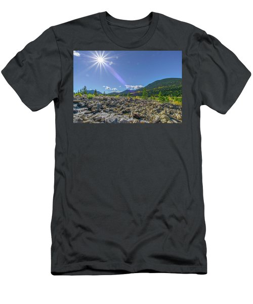 Star Over Creek Bed Rocky Mountain National Park Colorado Men's T-Shirt (Athletic Fit)