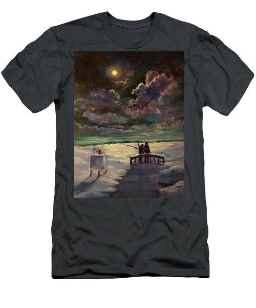 Star Shower Memories Men's T-Shirt (Athletic Fit)