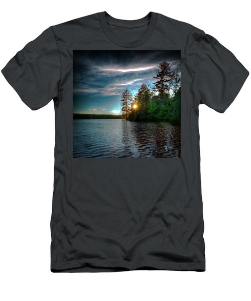 Star Sunset Men's T-Shirt (Slim Fit) by David Patterson