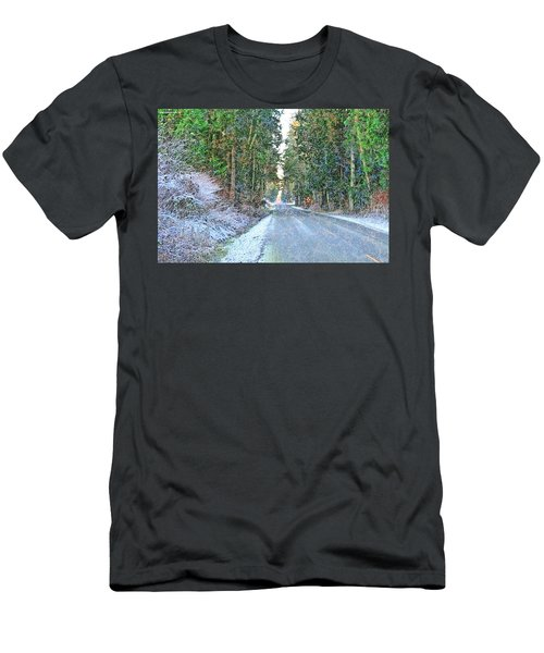 Starbird Road Men's T-Shirt (Slim Fit) by Tobeimean Peter