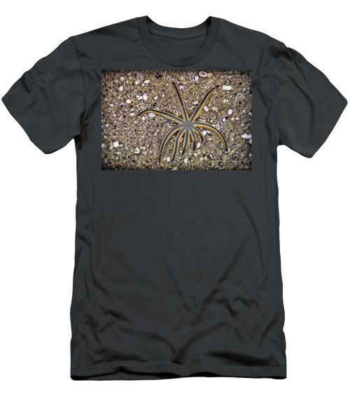 Starfish On The Beach Men's T-Shirt (Athletic Fit)
