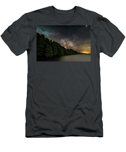 Starlight Swimming Men's T-Shirt (Athletic Fit)