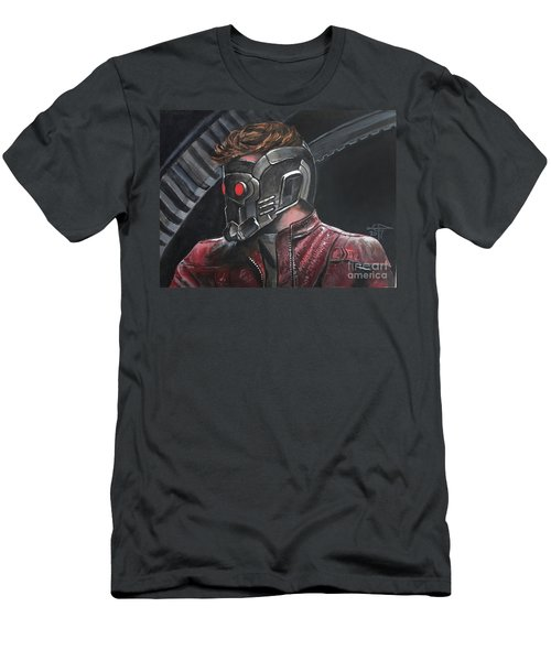 Starlord Men's T-Shirt (Slim Fit) by Tom Carlton