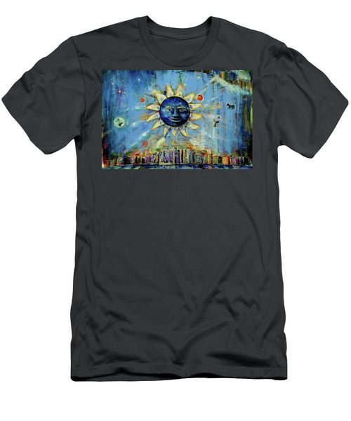 Starry Night 2017 Men's T-Shirt (Athletic Fit)