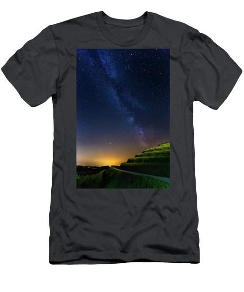 Men's T-Shirt (Athletic Fit) featuring the photograph Starry Sky Above Me by Davor Zerjav