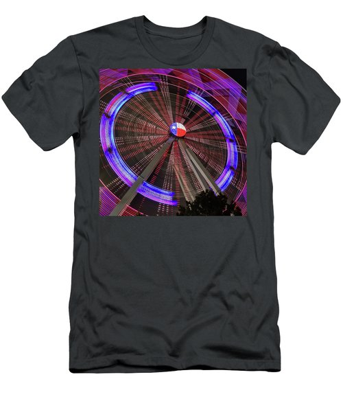 State Fair Of Texas Ferris Wheel Men's T-Shirt (Athletic Fit)