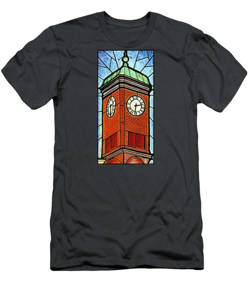Staunton Clock Tower Landmark Men's T-Shirt (Athletic Fit)