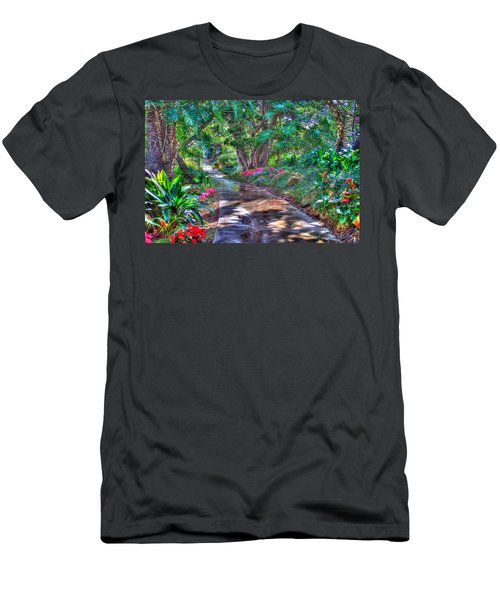 Men's T-Shirt (Slim Fit) featuring the photograph Stay On Your Path by TC Morgan