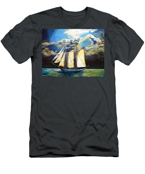Steady As She Goes Men's T-Shirt (Athletic Fit)