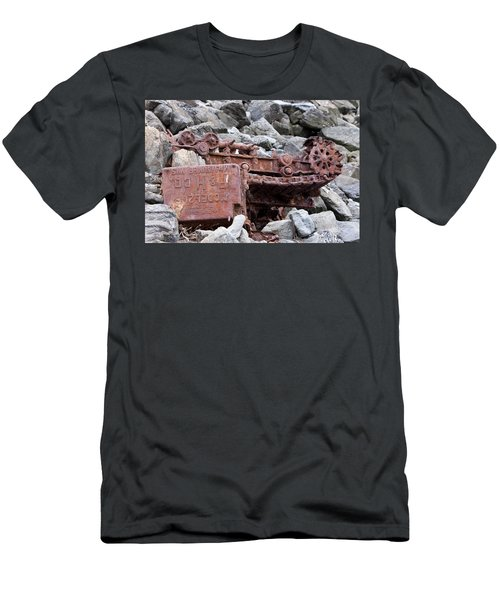 Steam Shovel Number One Men's T-Shirt (Athletic Fit)