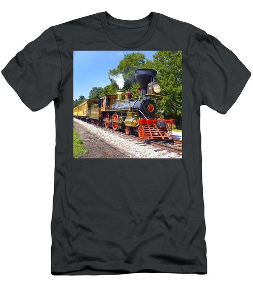 Steaming Into History Men's T-Shirt (Athletic Fit)