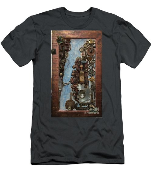 Steampunk 1 Men's T-Shirt (Athletic Fit)