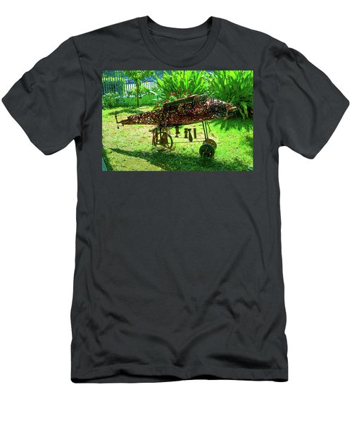 Steampunk From Mozambique Civil War Men's T-Shirt (Athletic Fit)
