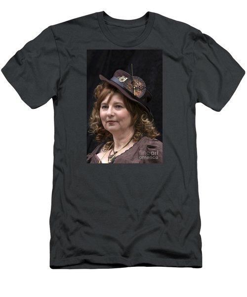 Steampunk Portrait Men's T-Shirt (Athletic Fit)