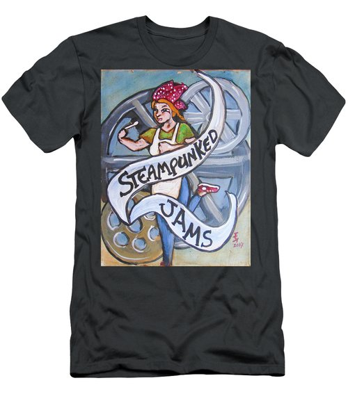 Steampunked Jams Men's T-Shirt (Athletic Fit)