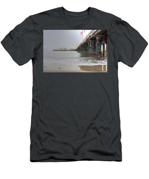 Stearn's Wharf Flag Men's T-Shirt (Athletic Fit)