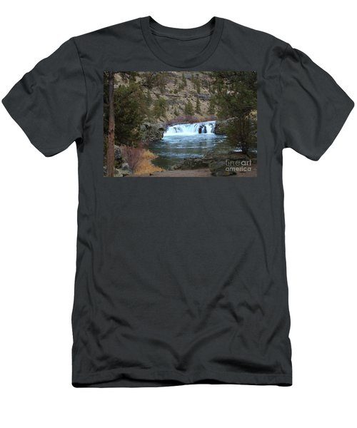 Steelhead Falls Men's T-Shirt (Athletic Fit)