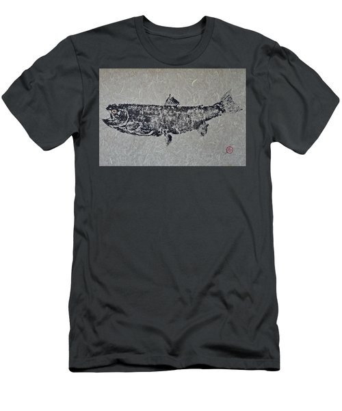 Steelhead Salmon - Smoked Salmon Men's T-Shirt (Athletic Fit)
