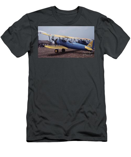 Men's T-Shirt (Athletic Fit) featuring the photograph Steerman by Donald Paczynski