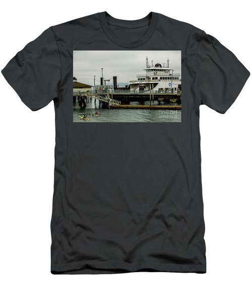 Steilacoom Ferry,washington State Men's T-Shirt (Athletic Fit)