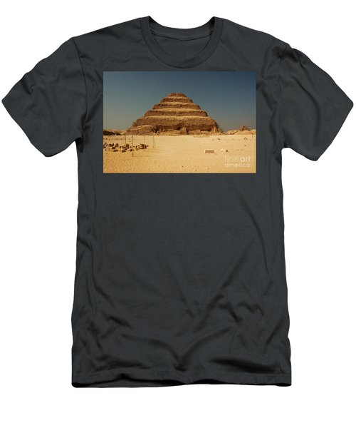 Step Pyramid 2 Men's T-Shirt (Athletic Fit)